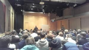 Utrikeskorrespondent Victor Savic besöker Franska skolan