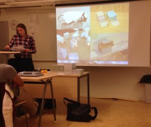 Alexandra berättar om arkitektstudier
